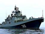 Фрегат ЧФ «Адмирал Григорович» отработал задачи ПВО в море