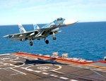 Су-33 упал в море при посадке на «Адмирала Кузнецова»