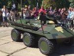 Ездить верхом за водкой: на что «способен» новый украинский БТР «Фантом»?