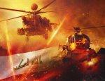 Убойный дуэт: иракский оператор снял бой «Ночного охотника» и «Еврокоптера»
