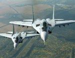 Летчики-истребители отработали перехват воздушных целей