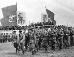 16 июля 1944 года в  Минске прошел знаменитый партизанский парад