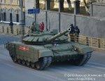 Основные танки Т-72Б3 на генрепетиции Парада Победы в Москве (7 мая 2017)