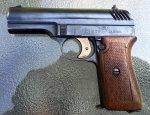 Первый чешский армейский пистолет CZ 1922