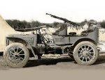 Французский разведывательный aвтoмoбиль «Panhard-Levassor» 1904 года