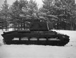 Вооружение пехотного танка Matilda III советской 76,2-мм пушкой Ф-96
