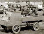 Лeгкий брoниpoвaнный aвтoмoбиль  I Мировой «Otokar»