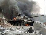 Три танка, техника и десятки боевиков уничтожены в Сирии армией Асада