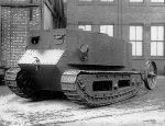Первый в истории работоспособный прототип танка - «Маленький Вилли»