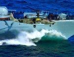 «Катран» на борту «Горшкова»: В Сети появилось фото новейшего вертолета РФ