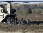 Рядом с границей России начались международные военные учения
