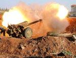 Прямое попадание тяжёлой артилерией Хизбаллы по террористам попало на видео