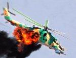 Загнанные в угол боевики уничтожили боевой вертолет армии Асада из ПЗРК