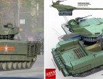 Сравнение российского танка «Т-14» и украинского проекта «Тирекс»