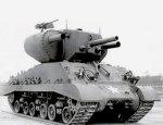 Экспериментальный американский ракетный танк Т31 «Demolition Tank»