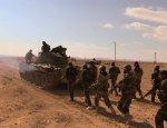 САА и ВКС России отбили у ИГ стратегический пункт в пустыне Хомса