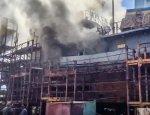 ВМС Украины потеряли водолазное судно «Нетешин» из-за грандиозного пожара