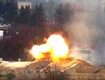 Боевики засняли попадание ракеты TOW в сирийский Т-72: танк выжил