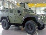 Сербия представила новую многоцелевую бронированную машину Milosh 4X4