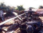 Падение «Черного Ястреба»: В США во время учений рухнул военный вертолет
