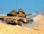 Сирийский танк эффектно смешал с песком «шахид-мобиль» боевиков