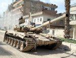Бойцы Асада с помощью «Шилок» и Т-72 закрепились на границе с Ливаном