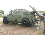 В России создан 120-мм самоходный миномет на базе СБМ «Тигр-М»