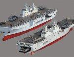 Десантный вертолетоносный корабль-док КНР не испугается шторма