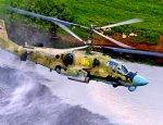 50 ударных вертолетов устроили огненный ад «вражескому десанту»