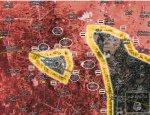 Сирийская армия полностью окружила Дейр Хафер в провинции Алеппо