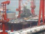300-метровый авианосец ВМС КНР готов к спуску на воду
