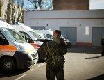 Два раненых наблюдателя ОБСЕ доставлены в больницу в Луганск