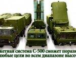 В России начали готовить специалистов для С-500 «Прометей»
