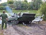 На водном полигоне 20-й армии