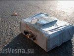 На Донецкой трассе, используемой ОБСЕ, обнаружено взрывное устройство