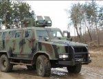 Украинская армия взяла на вооружение новые бронемашины «Козак-2»