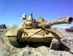 Ракета TOW и детонация боекомплекта поставили крест на сирийском Т-72