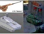 Прототип китайской БМП: корпус «Курганца» и перспективная «стелс»-башня