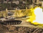 Битва за Дамаск: сирийцы засняли гордской бой Т-72 в Джобаре