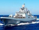 Корабли Черноморского флота провели учебный бой в Средиземном море