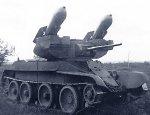 Первый советский ракетный танк РБТ-5