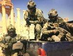 Уникальные фотографии действия Сил специальных операций РФ в Пальмире