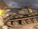 Боевики засняли, как Т-55 мощным выстрелом разгромил пулеметное гнездо САА