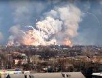 После взрывов в Балаклее появились первые жертвы среди мирных жителей