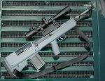 Американская снайперская винтовка  по схеме буллпап AWC G2