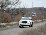 Украинские диверсанты подорвали авто ОБСЕ в ЛНР