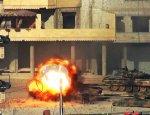 Удар из ПТРК TOW по танку Т-62М закончился детонацией боекомплекта