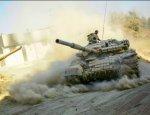 Т-72 САА нарвался на ПТУР боевиков в Дамаске, выехав на огневую позицию