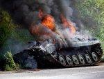 Солдаты ВСУ на камеру похвастались, как уничтожили БМП ополченцев Донбасса