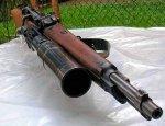 Предок подствольных гранатометов - винтовочный гранатомет Tromboncino M28
